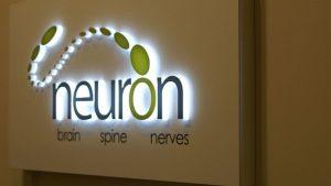 Neuron Backlit Lighted Lobby SIgn