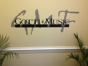 Whitsett Vinyl Signs, Wraps, & Graphics Gotti Cut Vinyl lobby sign 300x225