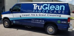 Pleasant Garden Vinyl Printing Vehicle Wrap Tru Clean 300x146