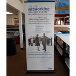 Trade Show Displays banner vinyl tradeshow retractable indoor 150x150
