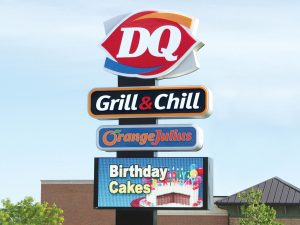 Greensboro Lighted Signs 0092 Dairy Queen Bendsen Sign Graphics W 19mm 80x176 Bloomington IL 101718 1 300x225