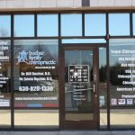 Burlington Window Graphics Copy of Chiropractic Office Window Decals 150x150