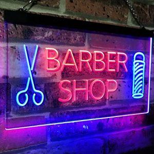 Gibsonville Sign Installation indoor lighted barbershop custom signage 300x300