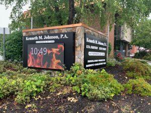 Greensboro Sign Company JohnsonLaw client 300x225